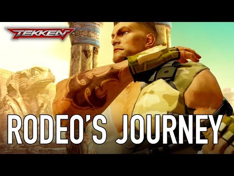 Tekken Mobile - iOS/Android - Rodeo's journey (Character Reveal Trailer)