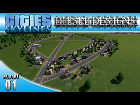 Cities: Skylines: EP01: Island City! :DieselDesigns: (LP Cit