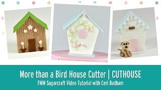FMM Sugarcraft More Than a Bird House 4 Piece Cutter Set