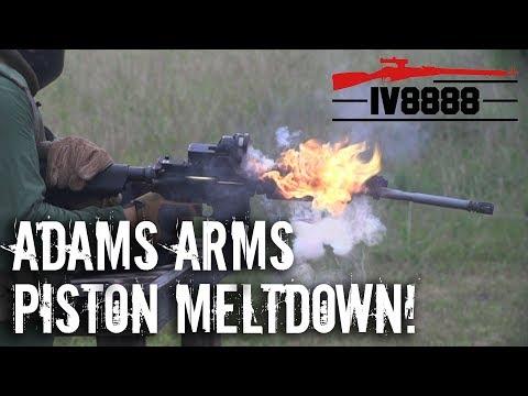 Adams Arms Piston AR-15 Meltdown!