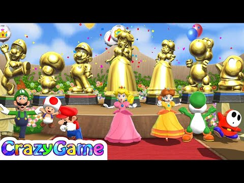 Mario Party 9 - All Characters Win and Lose - Champion Celebrations - Step It Up
