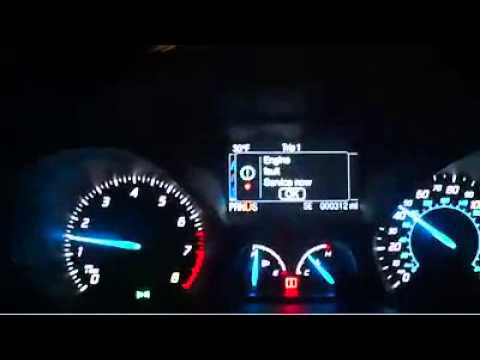 2013 Ford Escape Error Messages Video 2
