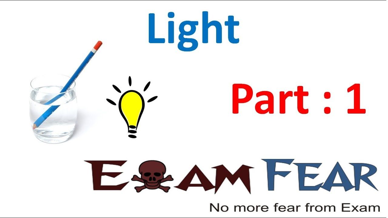 hight resolution of Physics Light Part 1 (Introduction) Class 7 VII - YouTube