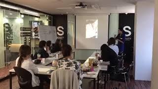 소향S뷰티아카데미/CS엠보와실크파우더수지영상 강의중