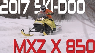 STV 2017 Ski-Doo MXZ X 850