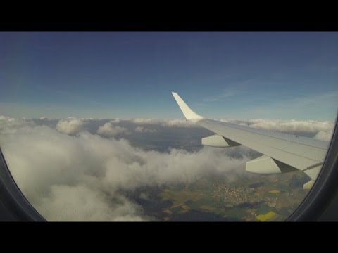 Air Plane (Lufthansa) take off and landing (special edit ...