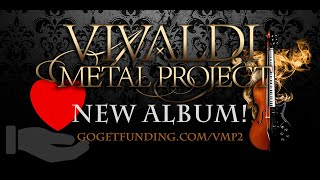 Pre-order and support Vivaldi Metal Project's NEW ALBUM! 🤘❤