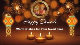 Happy Diwali 2019, Greetings for Diwali, Festival Wishes, Deepavali Video Status