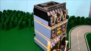 Lego 10218 Pet Shop - Time Lapse & Stop Motion