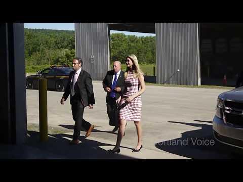 Ivanka Trump visits Cortland County
