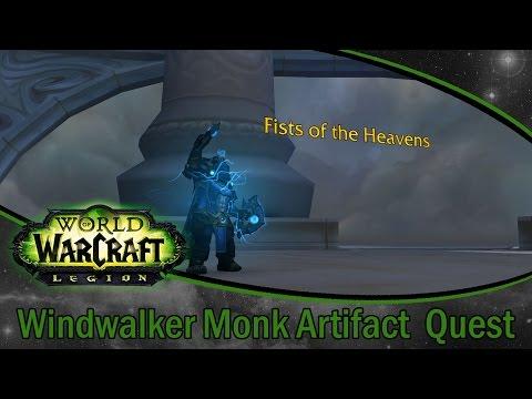 World Of Warcraft Legion | Windwalker Monk Artifact Quest