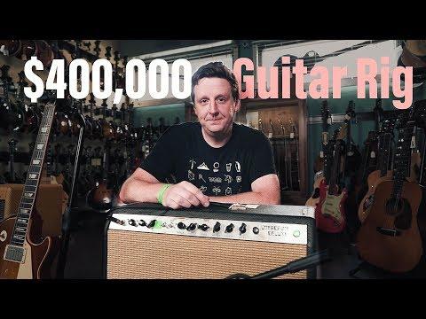 """ $400,000 Guitar RIG | Dumbles, Cornish Pedals, Ed King's Guitar"" JHS VLOG"