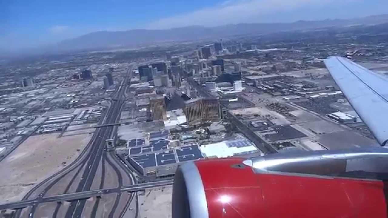 Virgin America Airbus A320-200 Las Vegas (LAS) to San Francisco ...