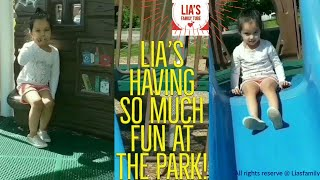 Lia's Family Tubee -  Lia's having so much fun at the park and wants to share it with you!