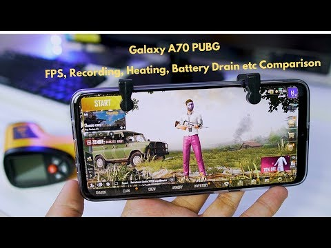 Galaxy A70 PUBG Touch Issues? Detailed PUBG Gameplay With Max Settings, FPS