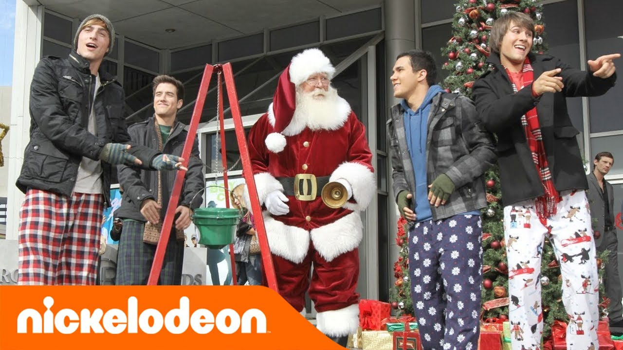 big time rush beautiful christmas teennick youtube - Big Time Rush Christmas