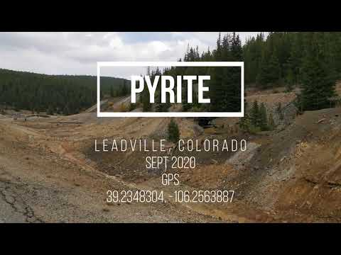 Rockhounding PYRITE || Leadville, Colorado