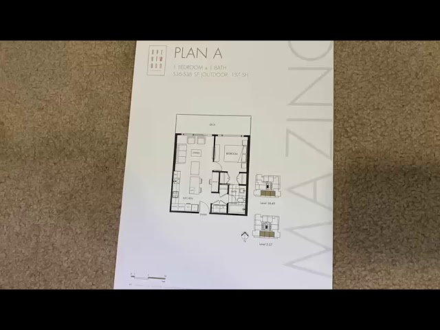 Amazing Brentwood Tower 2 One Bedroom South Facing Youtube