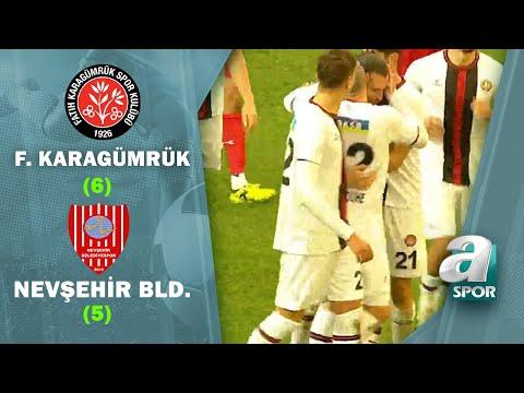 Fatih Karagümrük 2 (4) - (3) 2 Nevşehir Belediyespor (Ziraat Türkiye Kupası 3. Tur Maçı)