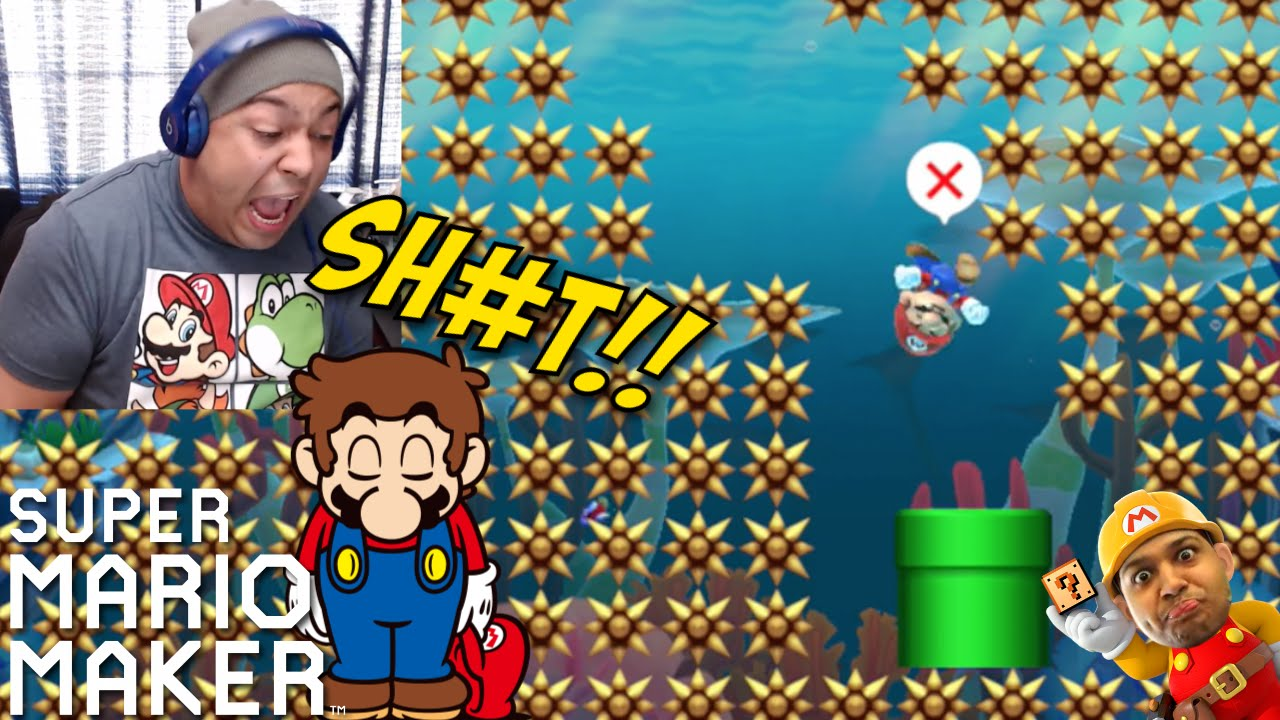 All Rage Levels Why Super Mario Maker 12 Youtube