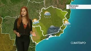 Previsão Sudeste - Quinta-feira de temporais