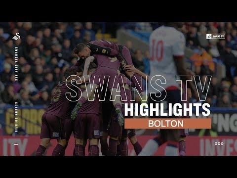 Highlights: Bolton Wanderers 0 - 1 Swansea City