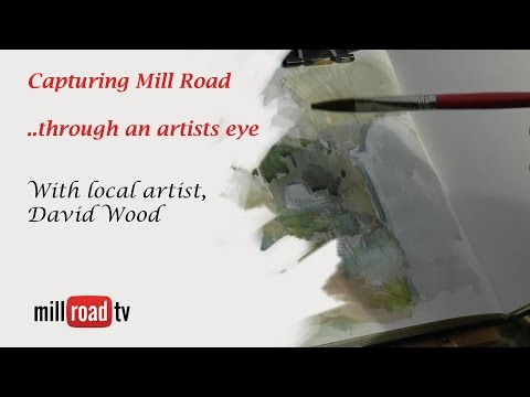 Capturing Mill Road, through an Artists Eye - Mill Road Cemetery