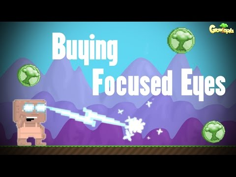 Growtopia | Buying Focused Eyes! - YouTube