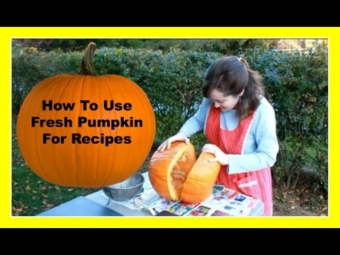 How To Cook Fresh Pumpkin For Recipes