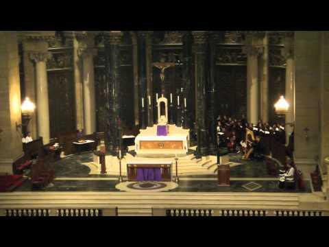 Robert Moran and Robert Ridgell at the Trinity Requiem 9/11 Minnesota premiere