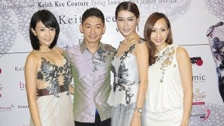 KEITH KEE COUTURE Moon Night Spring/Summer 2015 Collection Fashion
