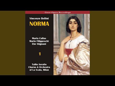 """Norma: Act I, Scene 1 - """"Andante ... Sgombra è la sacra selva"""""""