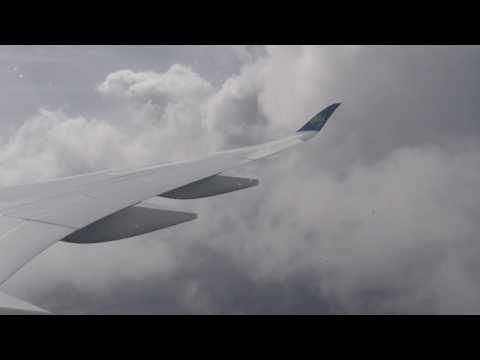 [FLIGHT#53] AIR CARAIBES A350-900XWB landing to MARTINIQUE
