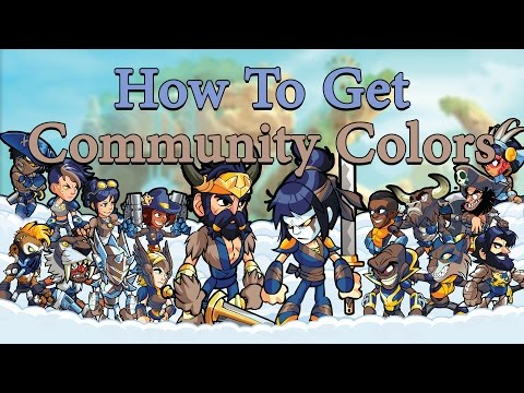 How to Get Community Colors (Brawlhalla) - YouTube