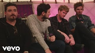 Kodaline - In Conversation - Xperia Access @ V Festival (Lounge) (Louder Lounge)