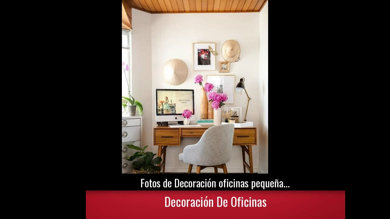 Fotos de decoraci n oficinas peque as y modernas youtube for Imagenes de oficinas pequenas