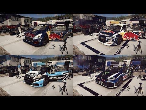 Dirt Rally 2.0 - WRX - Hell - All Cars Setups