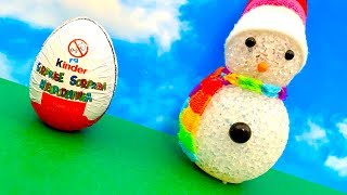 Christmas Surprise Egg ❤️ क्रिसमस, आश्चर्य अंडे