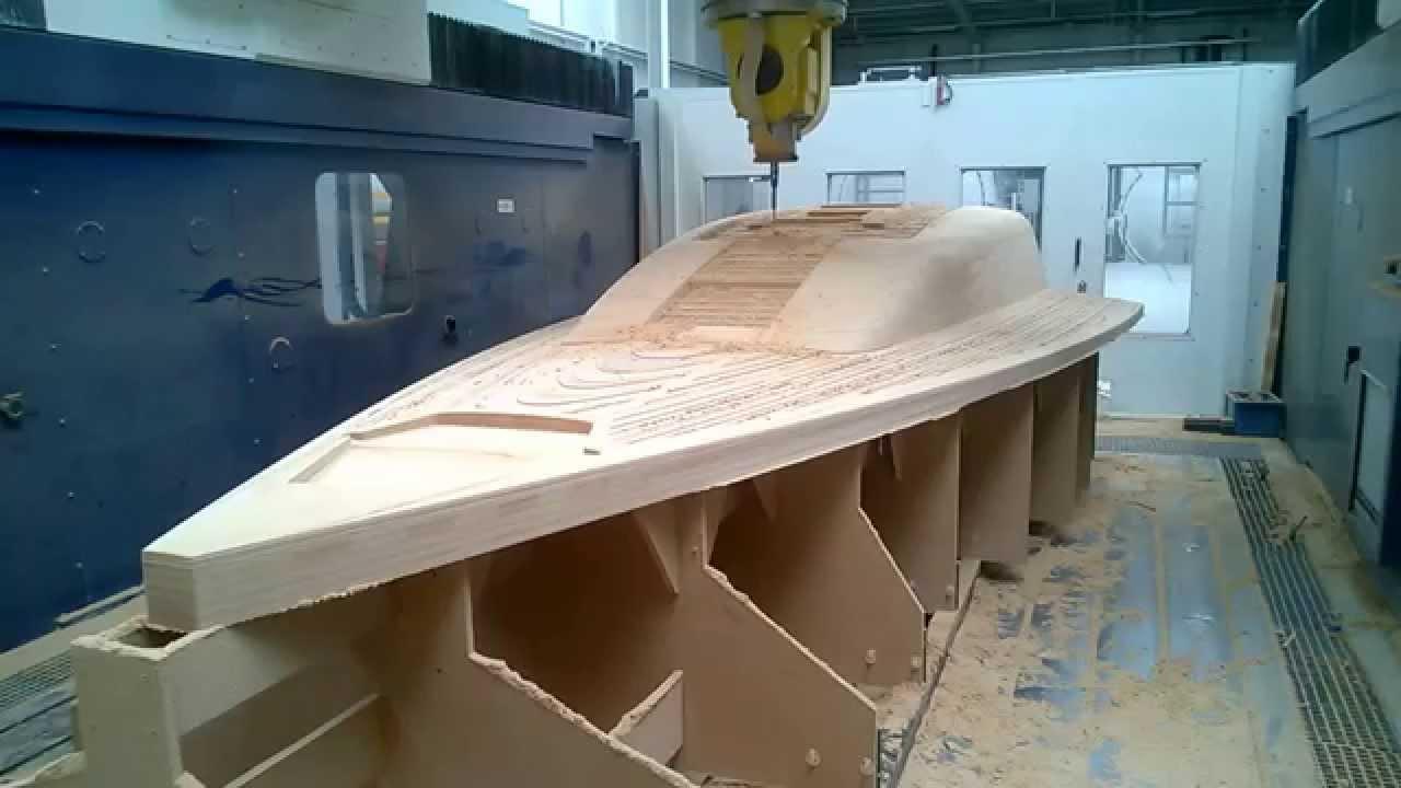Marine Boat Deck Model Milling Youtube