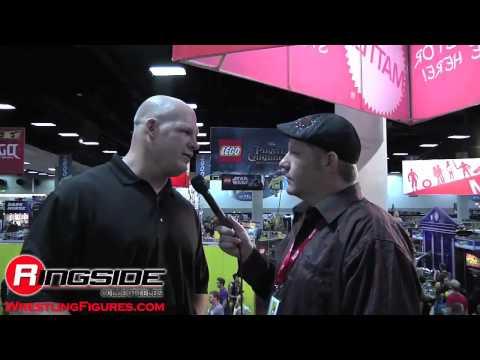 Kane Interview Mattel WWE SDCC 2011