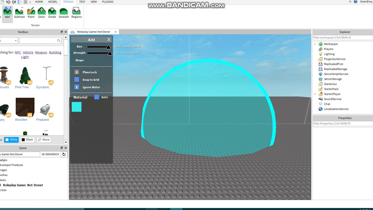 How To Add Water Into Your Roblox Game No Scripting Youtube