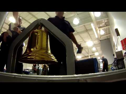 Travel the Hendrick Motorsports campus with the Victory Bell