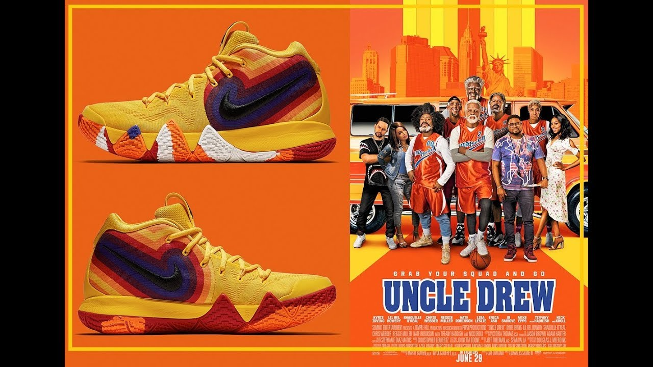 94a7841fe903 This Uncle Drew Themed Nike Kyrie 4 Is Releasing In August - YouTube
