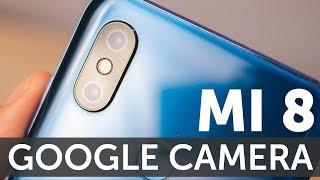 Обзор Google Camera HDR на Xiaomi Mi 8 тест фото (HDR+ и портреты)
