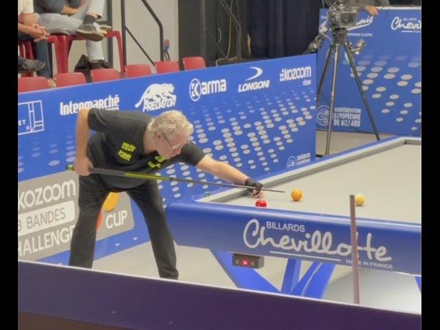 Billard challenge cup Match De Becker - Forthomme - Lège Cap Ferret