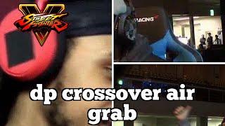 Pro Street Fighter V Highlights: dp crossover air grab