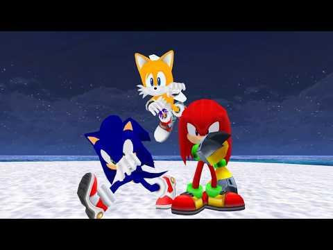 Sonic Heroes: Team Adventure + Night Emerald Coast [No HUD]