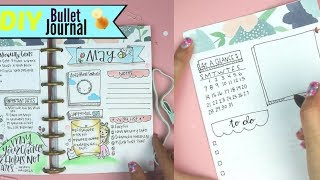 DIY Bullet Journal | How to make a Planner thumbnail