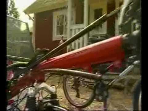 Cykeltur - bike trip through Europe on Toxy recumbent