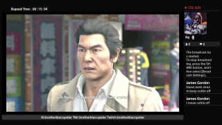 What I'm playing now...Yakuza 6 Demo part 1 3rd act....